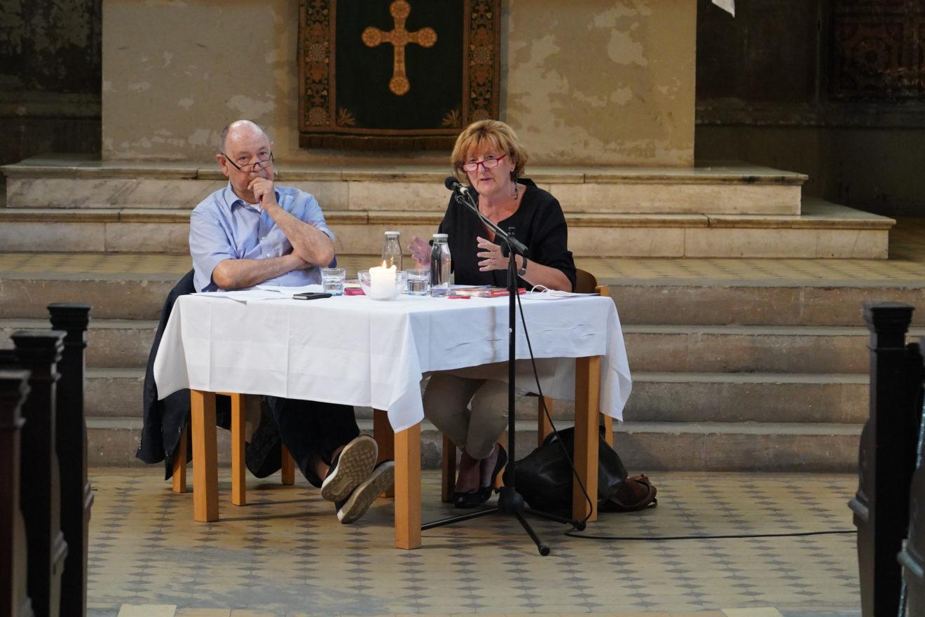 Ehepaar Schneider in der Zionskirche