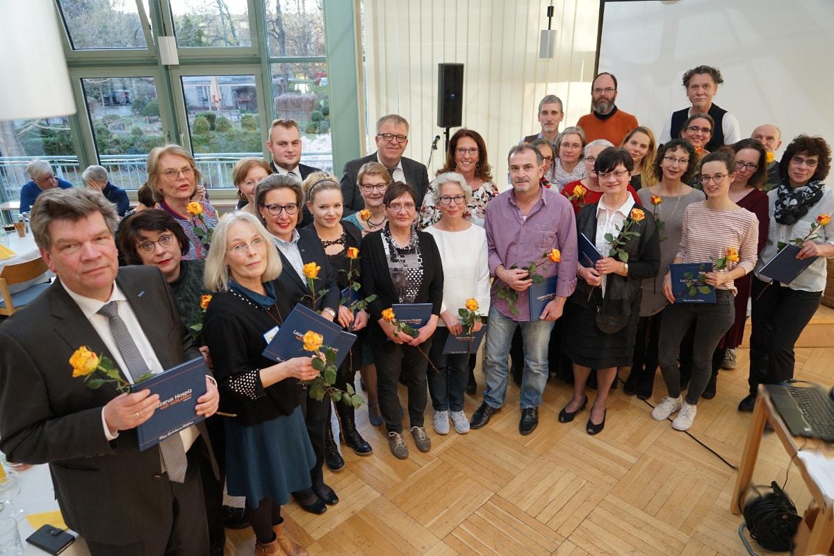 Gruppenbild 20 Jahre Lazarus Hospiz Berlin